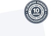 10 jährige garantie