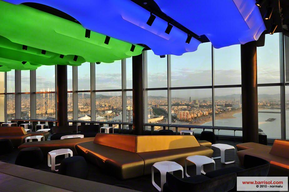 Fotos proyectos excepcionales hotel w vela bar eclipse for W barcelona bar