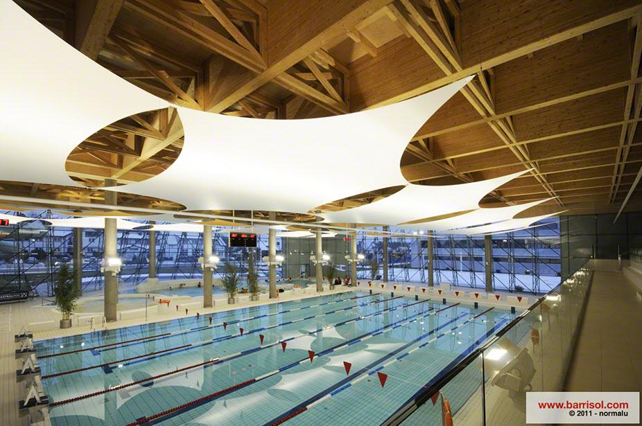 Finest piscina con vele with progetti piscine for Big blu piscine