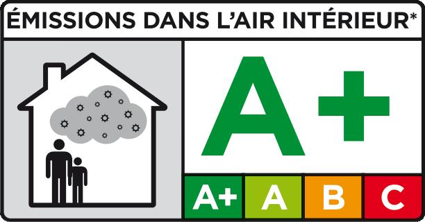Qualité de air intérieur : A+